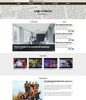 sito web modello n. 10032 per sito web per presentazione