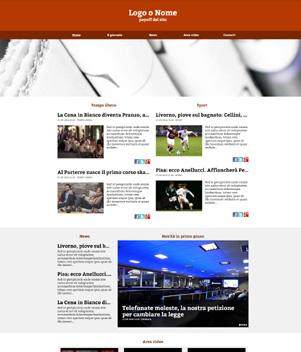 sito web modello n. 10033 per sito web per presentazione