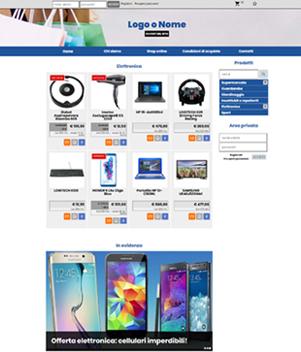 sito web modello n. 10082 per sito web per e-commerce