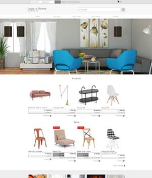 sito web modello n. 10098 per sito web per e-commerce