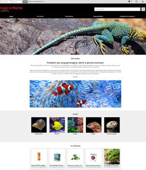 sito web modello n. 10107 per sito web per e-commerce
