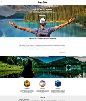 sito web modello n. 10111 per sito web per presentazione