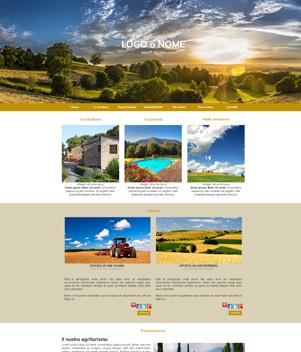sito web modello n. 10002 per sito web per struttura turistica