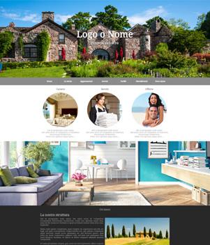 sito web modello n. 10003 per sito web per struttura turistica