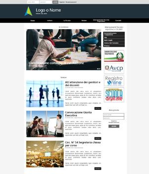 sito web modello n. 10019 per sito web per ente pubblico