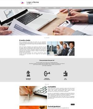 sito web modello n. 10022 per sito web per presentazione