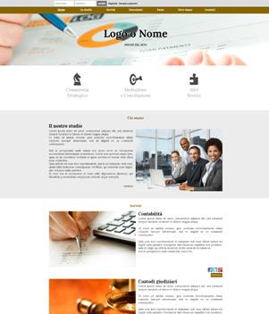 sito web modello n. 10023 per sito web per presentazione