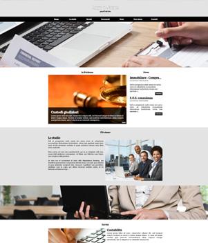 sito web modello n. 10024 per sito web per presentazione