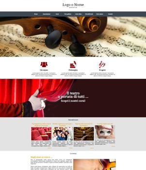 sito web modello n. 10025 per sito web per presentazione