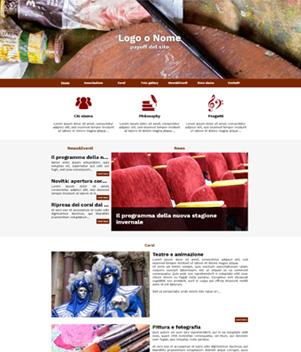 sito web modello n. 10026 per sito web per presentazione