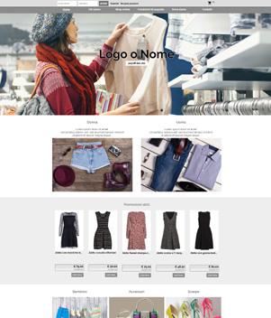 sito web modello n. 10028 per sito web per e-commerce