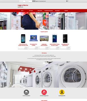sito web modello n. 10029 per sito web per e-commerce