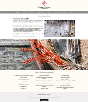 sito web modello n. 10035 per sito web per presentazione