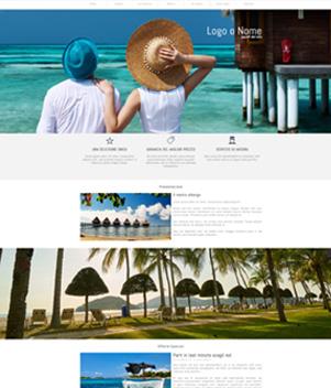 sito web modello n. 10039 per sito web per struttura turistica