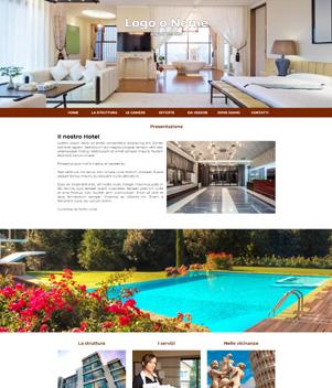 sito web modello n. 10040 per sito web per struttura turistica