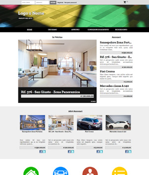 sito web modello n. 10042 per sito web per annunci
