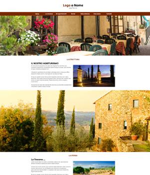 sito web modello n. 10050 per sito web per struttura turistica