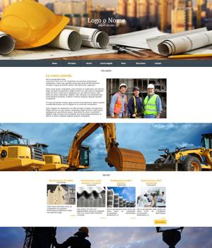 sito web modello n. 10051 per sito web per presentazione