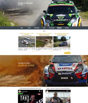 sito web modello n. 10052 per sito web per sport generico