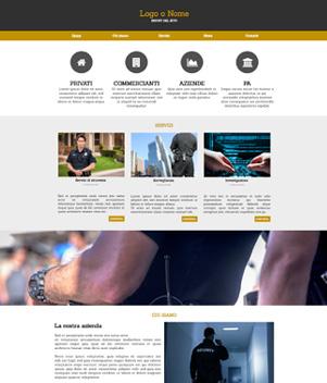 sito web modello n. 10053 per sito web per presentazione
