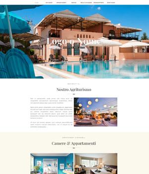 sito web modello n. 10054 per sito web per struttura turistica