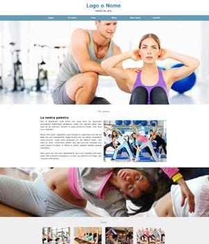 sito web modello n. 10056 per sito web per sport generico