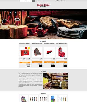 sito web modello n. 10057 per sito web per e-commerce