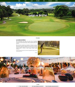 sito web modello n. 10059 per sito web per sport generico