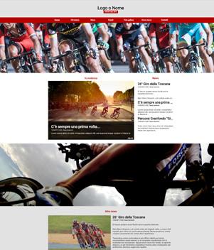 sito web modello n. 10065 per sito web per sport generico