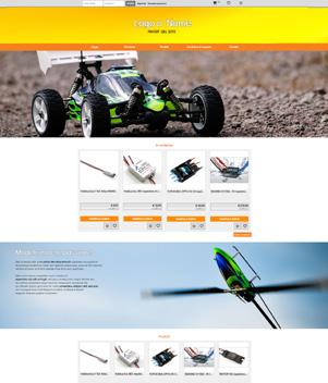 sito web modello n. 10077 per sito web per e-commerce