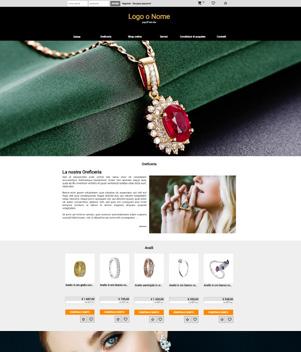 sito web modello n. 10079 per sito web per e-commerce