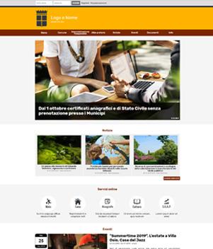 sito web modello n. 10084 per sito web per ente pubblico