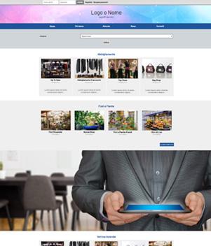 sito web modello n. 10092 per sito web per portale per vetrina aziende