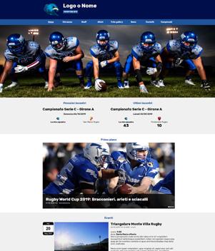 sito web modello n. 10093 per sito web per sport generico