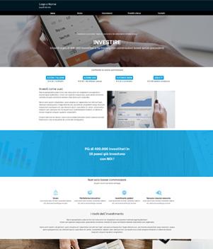 sito web modello n. 10099 per sito web per presentazione