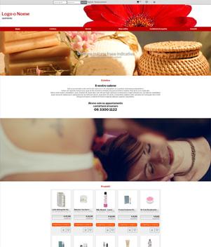sito web modello n. 10105 per sito web per e-commerce