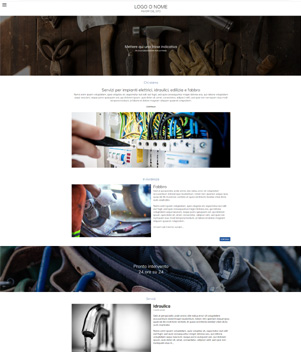sito web modello n. 10108 per sito web per presentazione